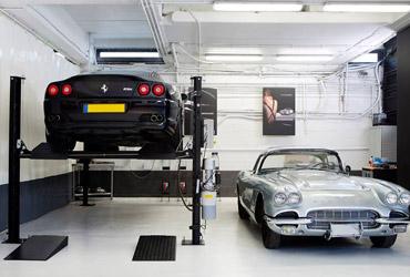 Cleverlift pro 3200 hefbrug verplaatsbare hydraulische hefbrug met vier steunpilaren - Retroviseur pour sortie de garage ...